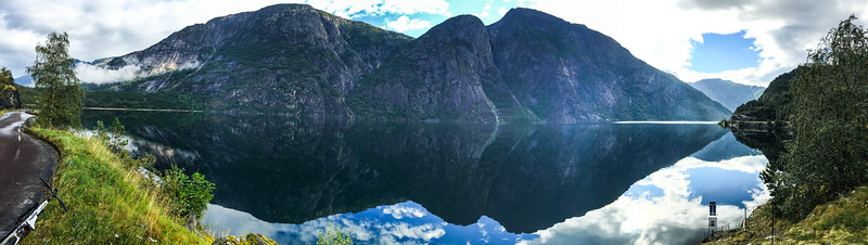 Ovre Eidfjord panorama