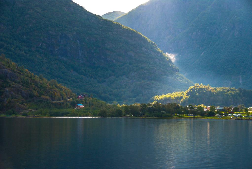 Ovre Eidfjord fjord